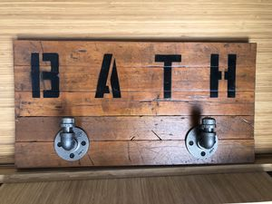 Antique Bath Towel Holder for Sale in Chicago, IL