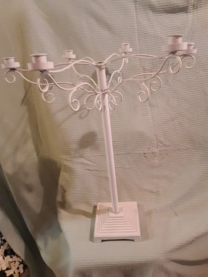 Wedding NEW 6-candle candelabra reception centerpiece for Sale in Naperville, IL