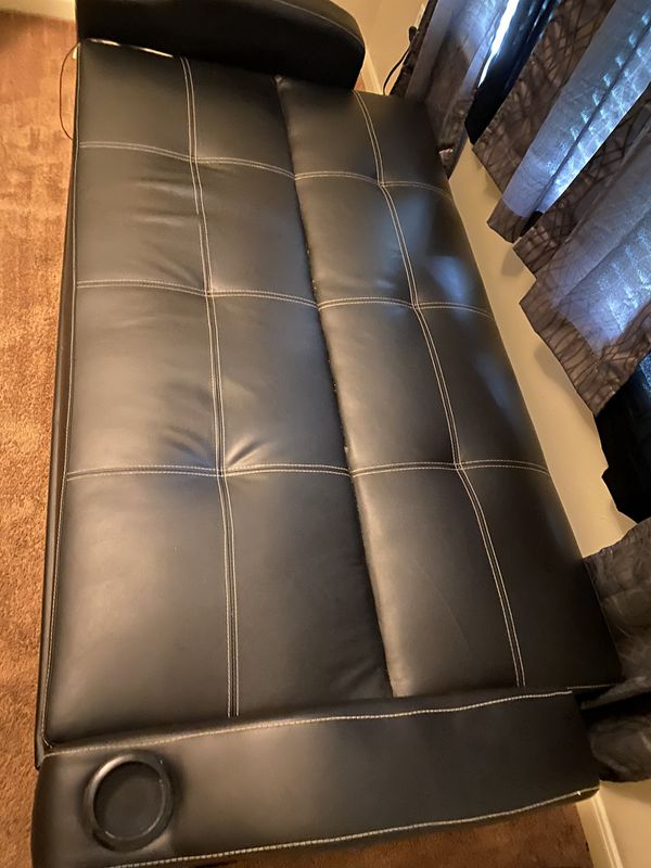Leather Sofa/Couch Bed for Sale in Houston, TX - OfferUp