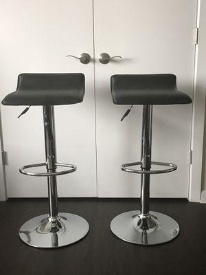 2 leather bar stool for Sale in Roanoke, VA