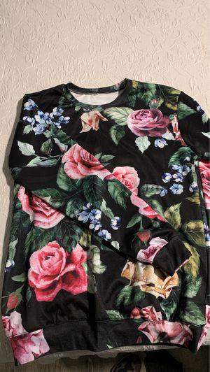 Floral sweatshirt mens m for Sale in Redondo Beach, CA