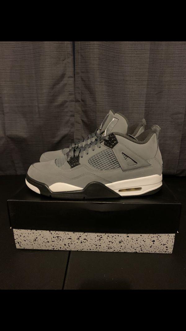 Jordan 4 cool gray sz 10.5