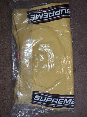 Supreme Text Rib Hooded Sweatshirt for Sale in West Carson, CA