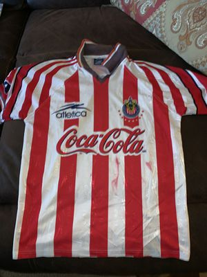 Chivas jersey in ok condition please refer to the pictures size is large for Sale in Perris, CA