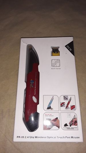 Wireless optical touch pen mouse for Sale in Chicago, IL