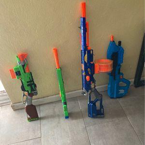 Nerf Gun 4 Pack (NO DARTS) for Sale in Phoenix, AZ