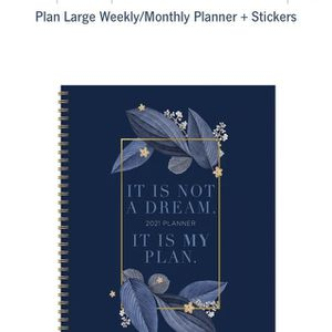 TF publishing 2021 Planner + Stickers for Sale in Placentia, CA