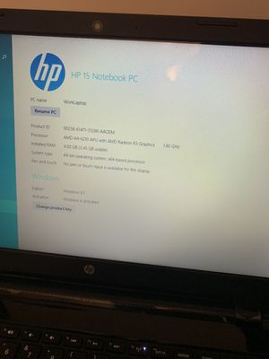 HP 15 Notebook PC for Sale in Fayetteville, NC