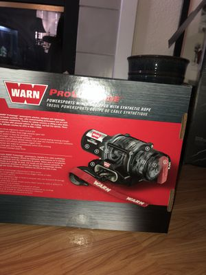 Warn winch for Sale in Sacramento, CA