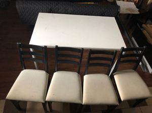 Ikea MELLTORP table & 4 LERHAMN chairs. for Sale in Philadelphia, PA
