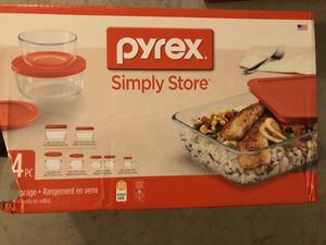 Brand New Pyrex 14 pcs Simple Store Glass Food Storage for Sale in Oceanside, CA