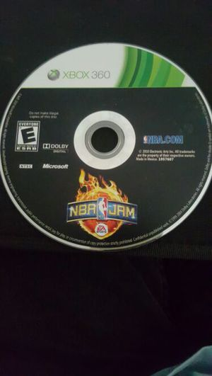 NBA JAM XBOX 360 GAME for Sale in Daly City, CA