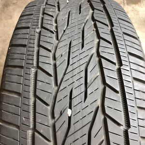 Set of 2 Used 275/55R20 Continental Cross Contact LX20 80% Life for Sale in Oak Park, IL