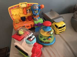 Baby toys (yellow truck doesn't make noise) for Sale in St. Louis, MO