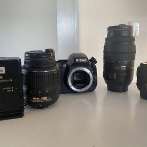 Nikon D5100 DSLR Kit for Sale in Hermosa Beach, CA