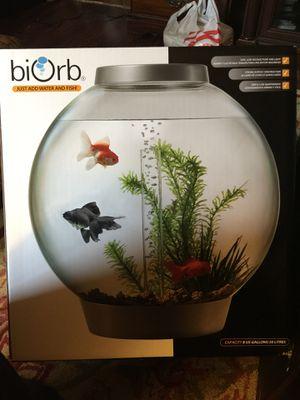 New BioOrb Aquarium 8 Gallon for Sale in Gambrills, MD