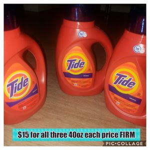 Tide BUNDLE PRICE FIRM for Sale in Brooklyn, NY