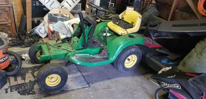 John Deere lawn tractor and Briggs & Stratton engine for Sale in Fort Worth, TX
