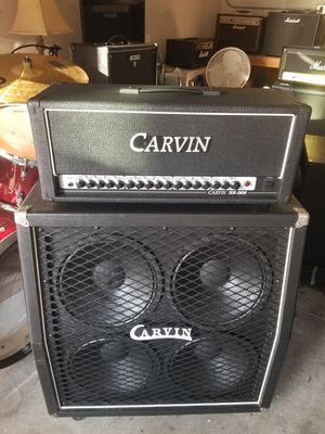 "CARVIN SX300 AMP & CARVIN CELESTION 4X12""280 WATT CAB for Sale in Rancho Santa Margarita, CA"
