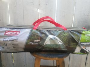 BRAND NEW... NEVER OPENED Coleman meadow falls 4 person tent for Sale in Riverside, CA