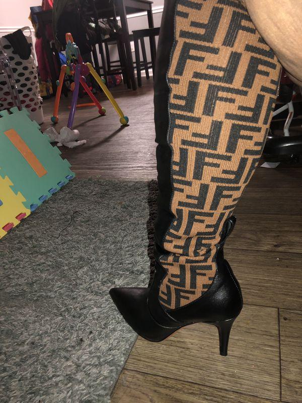 Knee High fendi boots size 9Womens $350