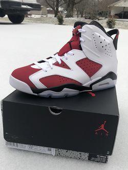 Nike Air Jordan 6 Carmine DS Size 10 & 10.5 for Sale in Smyrna,  TN