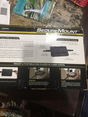 Secure mount portable DVD's player vehicle mount for Sale in Las Vegas, NV