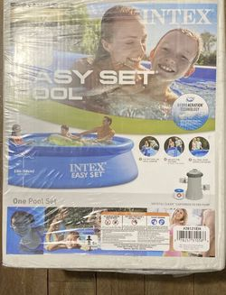INTEX 10ft x 30in Easy Set Pool for Sale in Knightdale,  NC
