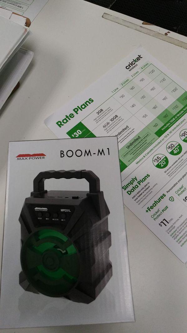 Boom M1 Speaker
