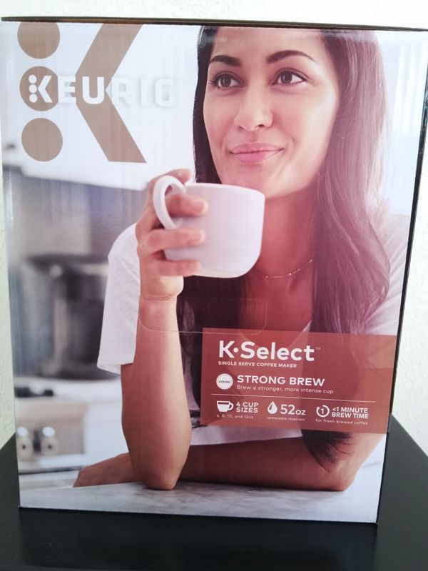 KEURIG K-SELECT Coffee Brewing Machine Limited Edition (NEW)
