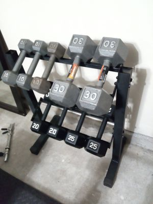 Dumbbell Weights (priced by pairs) for Sale in Katy, TX
