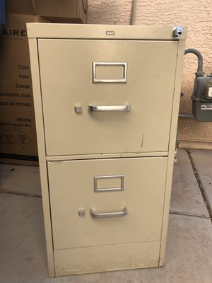 Metal filing cabinet for Sale in Henderson, NV