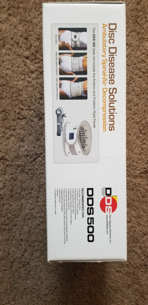 DDS 500 lumbar traction new