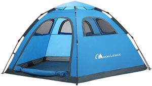 MOON LENCE Instant Pop Up Tent Family Camping Tent 4-5 Person Portable Tent Automatic Tent Waterproof Windproof for Camping Hiking Mountaineering for Sale in Houston, TX