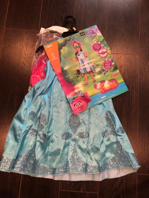 NEW TROLLS POPPY COSTUME WITH HEADPIECE for Sale in Downey, CA