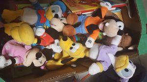 Mickey and Friends plushys for Sale in Boynton Beach, FL