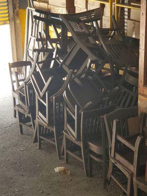 Sillas para patio restaurant FREE for Sale in Miami, FL