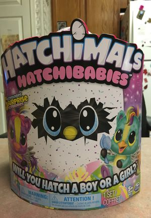 Brand new Hatchimals!!! Hatchibabies with Five surprise accessories!!! for Sale in Lampasas, TX