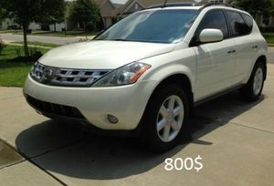 Looks Good 2OO3 Nissan Murano 4WDWheels! for Sale in Baltimore, MD