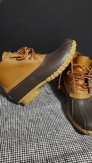 6in L.L. Bean Boots, Men's, 9, Medium D, Tan/Brown for Sale in Fort Lauderdale, FL