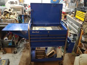 Blue point tool car box snap on for Sale in Affton, MO