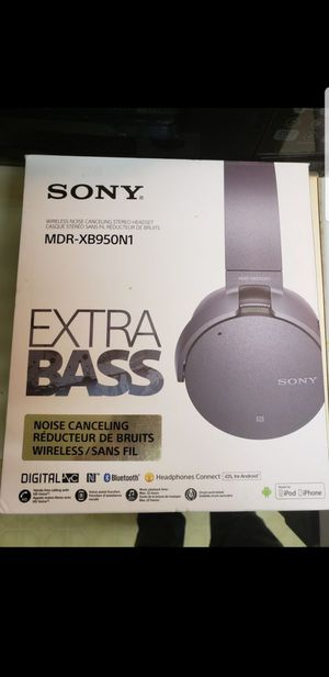 Bluetooth Sony Headphones MDR-XB950N1 for Sale in Lakewood, CO
