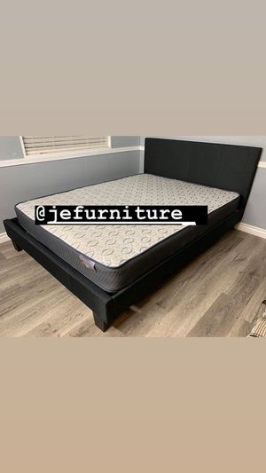 Queen Size Bed with Mattress Included for Sale in Long Beach, CA