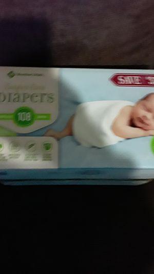 Members mark newborn diapers 108 ct for Sale in Conley, GA