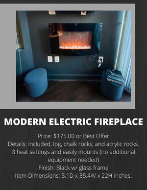 Electric Fireplace for Sale in Arlington, VA