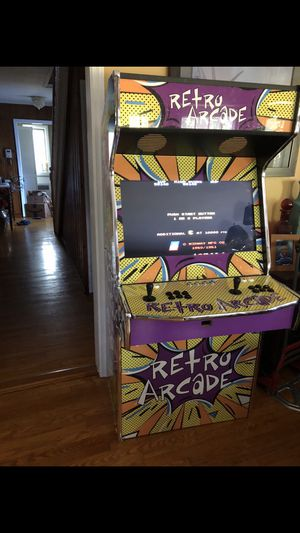 Bran new full size arcade with 32 inch TV and 12,990 games for Sale in Rockville Centre, NY