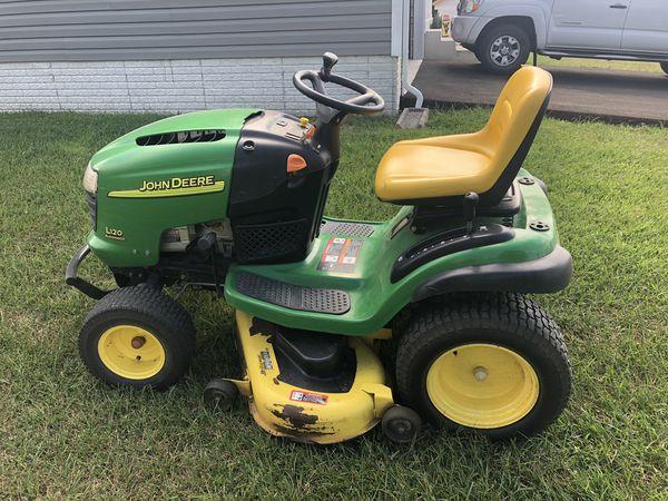 John Deere L120 Automatic Tractor