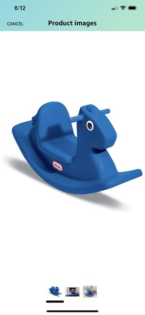 Little Tikes Rocking Horse Blue for Sale in Raleigh, NC