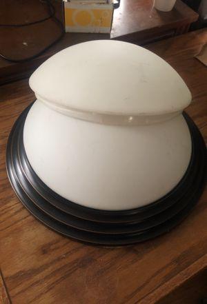 "Set of 2 LIGHT FIXTURES 16"" Base 12"" Bulb EUC for Sale in Martinsburg, WV"