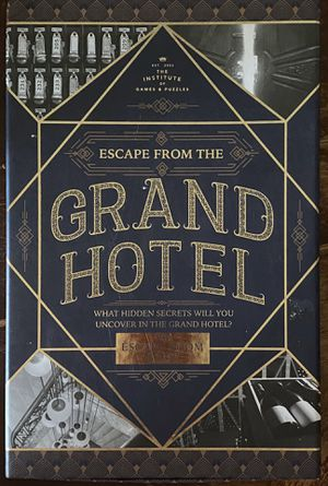 Escape From The Grand Hotel Game for Sale in Bedford, TX
